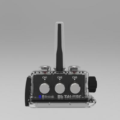 BbTalkin Masterd device with waterproof case