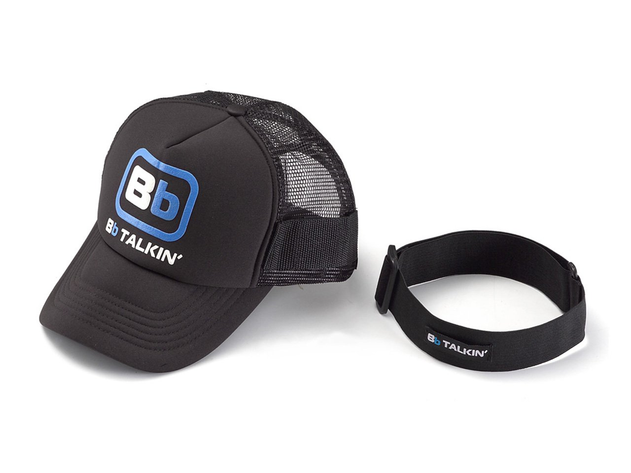 BbTALKIN cap and armstrap m01