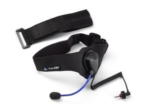 BbTalkin microphone and earpad with headstrap (Sport Set) b01