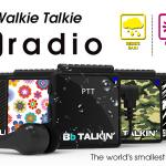 BbRadio waterafstotende IPX5 PTT Walkie Talkie product overzicht