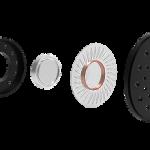BbTALKIN hoge kwaliteit helm speakers 40mm