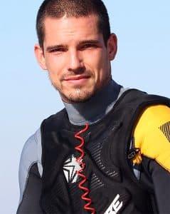 BbTalkin Team member Francois Lavergne Jetski