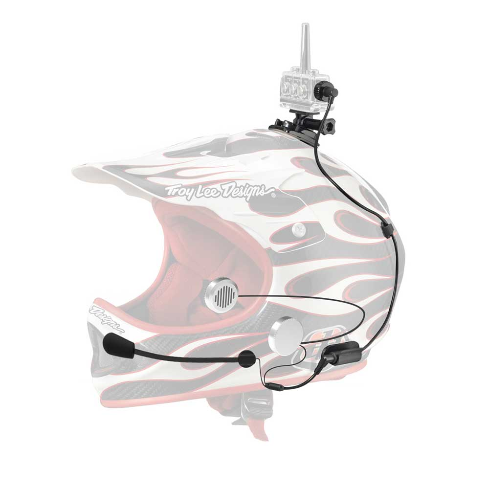 Full helmet headset for Jetski